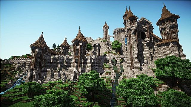 MINECRAFT CASTLE MAPS