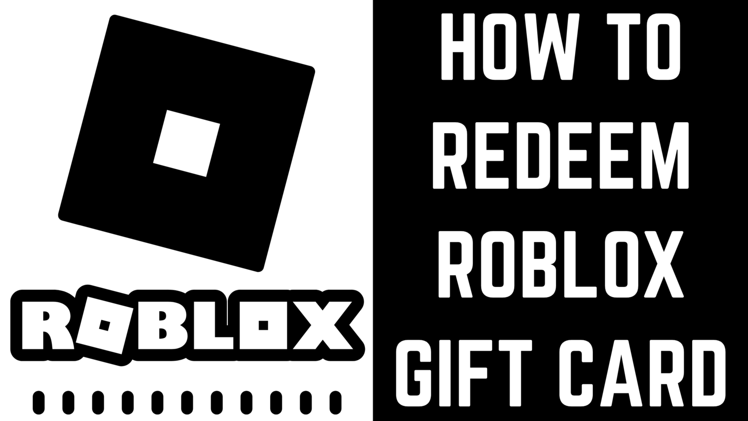 How to redeem Roblox Gift Cards